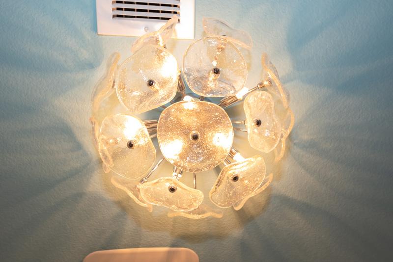 Stylish Laundry Room Lighting Accent