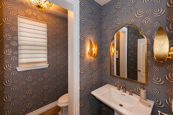 Sophisticated-Powder-Room